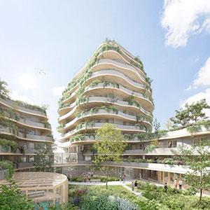 Où investir dans l'immobilier ? - Programme immobilier Les Jardins d'arborescence - Angers (49) - LMNP