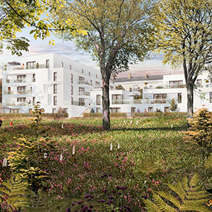 Où investir dans l'immobilier ? - Programme immobilier Bel Abord - Vertou (44) - Loi PINEL - C3 Invest