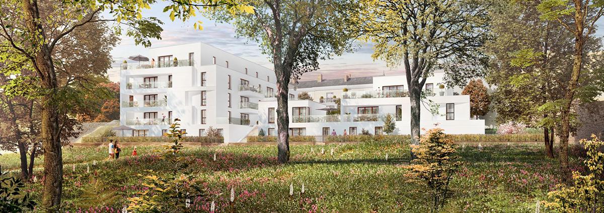 Où investir dans l'immobilier ? - Programme immobilier Bel Abord - Vertou (44) - Loi PINEL