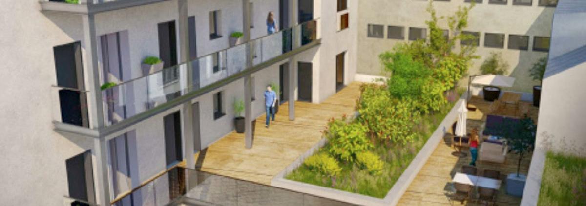 Où investir dans l'immobilier ? - Programme immobilier Linkcity - Nantes (44) - Déficit Foncier