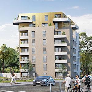 Où investir dans l'immobilier ? - Programme immobilier Michel Ange - Saint-Nazaire (44) - Loi PINEL