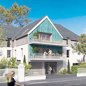 Où investir dans l'immobilier ? - Programme immobilier Villa Marine - La Baule (44) - Loi PINEL