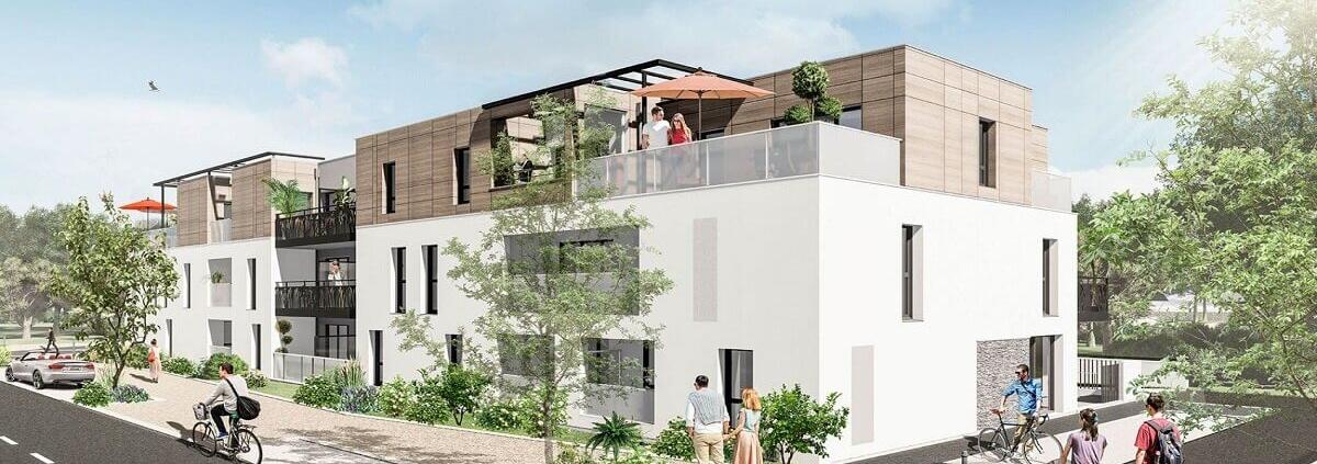 Où investir dans l'immobilier ? - Programme immobilier Les Pléiades - Les Sorinières (44) - Pinel