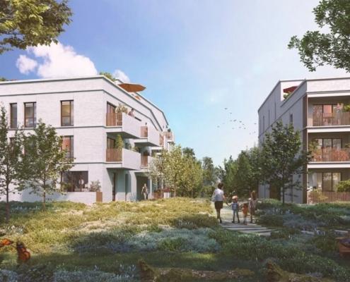 Où investir dans l'immobilier ? - Programme immobilier l'Aroma d'Ewen- Vertou (44) - LMNP