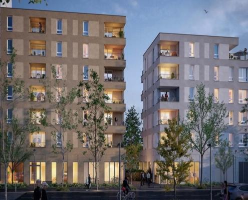 Où investir dans l'immobilier ? - Programme immobilier Baccara - Nantes (44) - Pinel