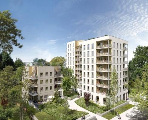 Où investir dans l'immobilier ? - Programme immobilier Cœur Boisé - Nantes (44) - Loi PINEL - C3 Invest