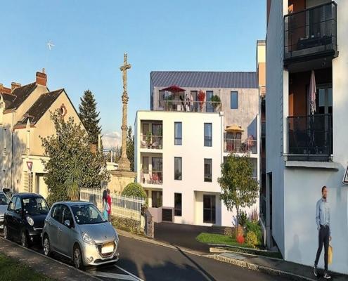 Où investir dans l'immobilier ? - Programme immobilier Les Lumières - La Chapelle sur Erdre (44) - Pinel